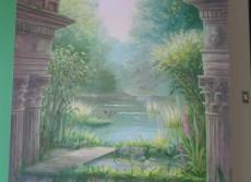 Panoramique peint