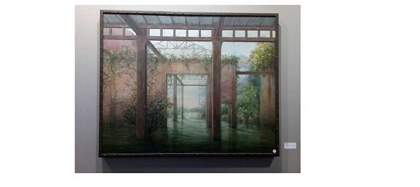 Peinture Tableau Inondation Marie-France Desbonnet Artiste Peintre Paris